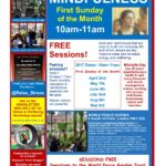 Spring & Summer Mindfulness Classes World Peace Garden Camden